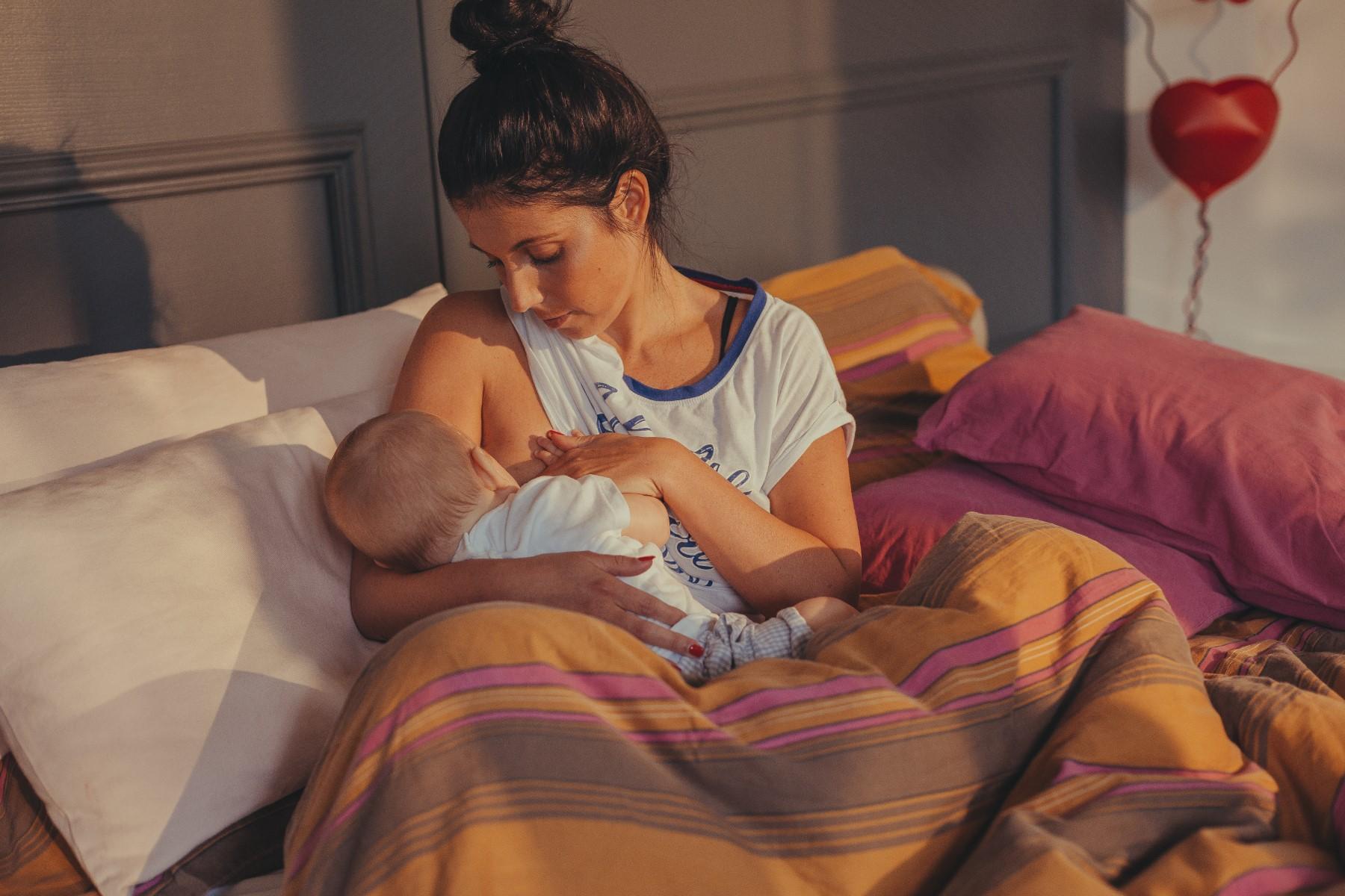 Le posizioni per allattare